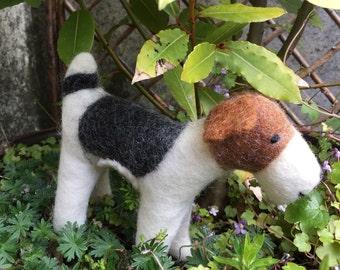 FOX TERRIER FELTED Wool