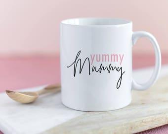 Yummy Mummy Mug | Ceramic Mug | Coffee Mug | Mum Mug | Gifts for Mum | Gifts for Her | Tea Mug | New Mum Gift | Mother's Day Gift