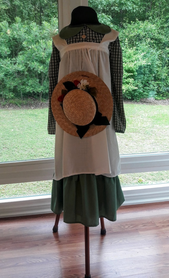1920s Downton Abbey Dresses Early 1900s Historic Costume Anne of Green Gables Inspired Complete Outfit $99.00 AT vintagedancer.com
