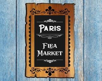Paris Flea Market SVG