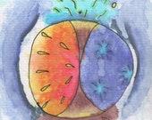Original Watercolor and P...