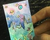 Original Watercolor Medit...