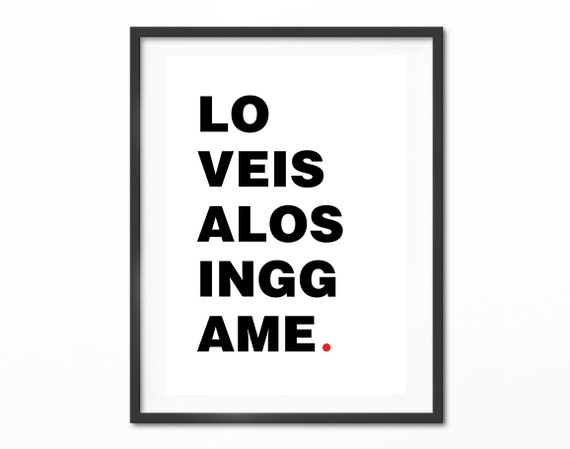 Love Is A Losing Game Amy Winehouse Love Quotes Typography Etsy