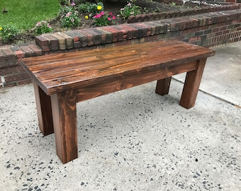 Charming Farmhouse Bench/Dining Bench