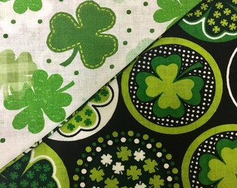 Luck of the Irish Sided Dog Bandana