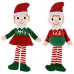 Personalized plush Santa elf doll, Christmas elf plush toy, peronsalized elf doll, Customized Santa's little helper doll