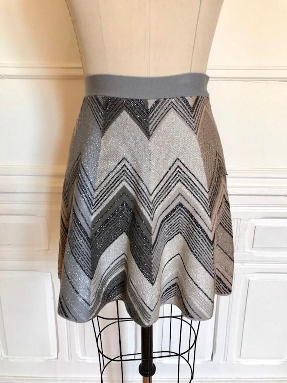 Vintage Missoni Vintage Metallic Knit Skirt Size S