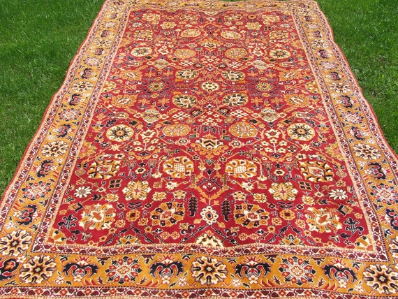 Stupendous Oriental Silk Rug Turkish Asian Rug Accent Rug Tapestry Armchair Coverlet Wall Decor Sofa Bed Table Ethnic 114 In 72 In Gmtry Best Dining Table And Chair Ideas Images Gmtryco