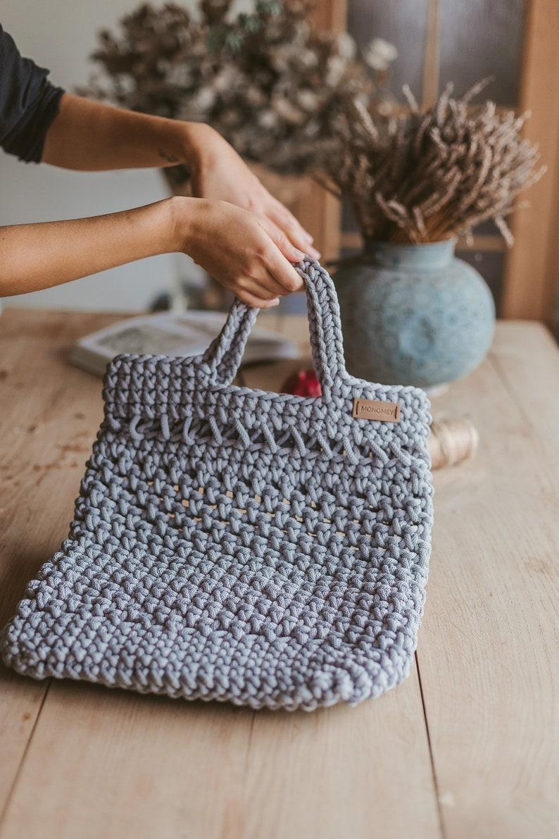 Crochet handbag pattern handbag pattern pdf easy bag image 0