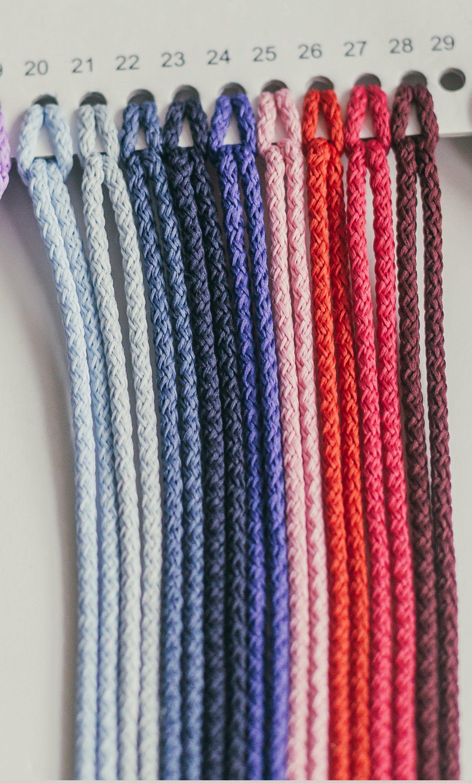 Macrame Cord 3mm Chunky Yarn Crochet Supplies Crochet Etsy