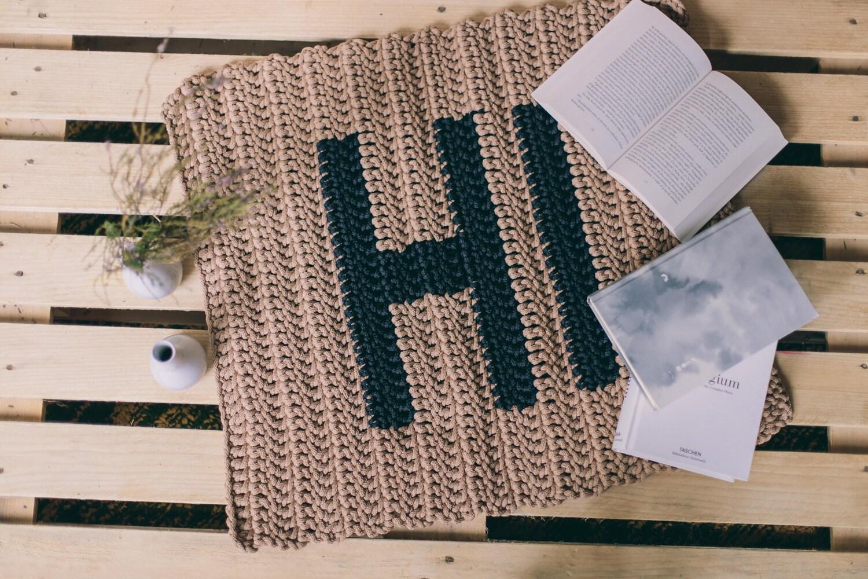 cadeau de pendaison de cr maill re paillasson funny tapis de etsy. Black Bedroom Furniture Sets. Home Design Ideas