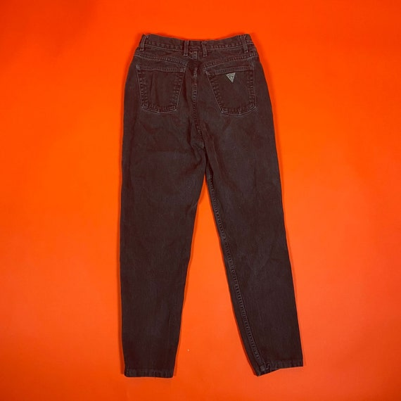 Vintage Black Guess Denim Jeans - image 2