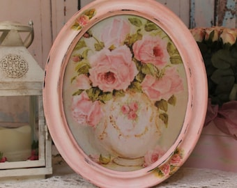 Garden Roses ~ Vintage ~ Shabby Chic ~ Country Cottage style ~ Wall Decor Sign