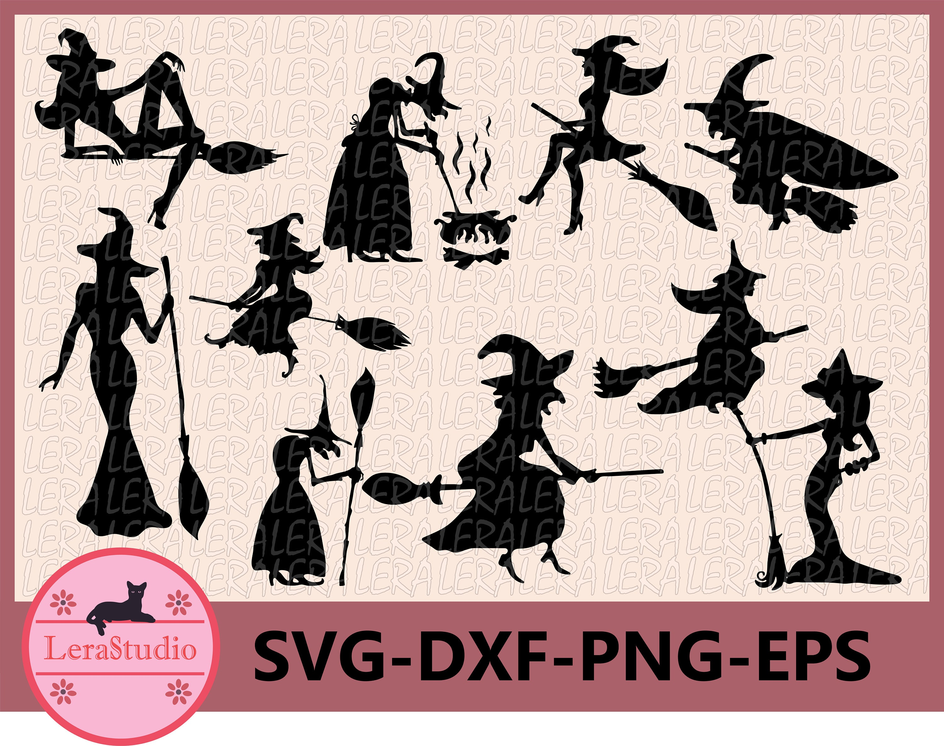 60 Off Halloween Svg Witch Svg Witch Clipart Halloween