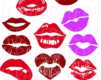 60 % OFF, Lips svg,  Lips clipart, Lips, kiss clip art digital download, Lips Silhouette svg, dxf, ai, eps, png, Lips Vector Files