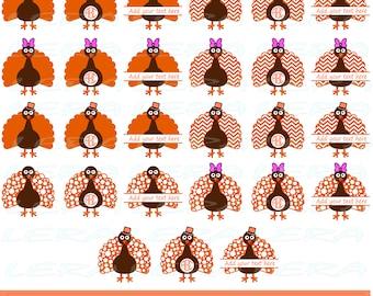 60 % OFF, Turkey SVG, Turkey Monogram svg, Thanksgiving svg,  svg, png, eps, dxf, Turkey Patterns svg, Turkey Clipart