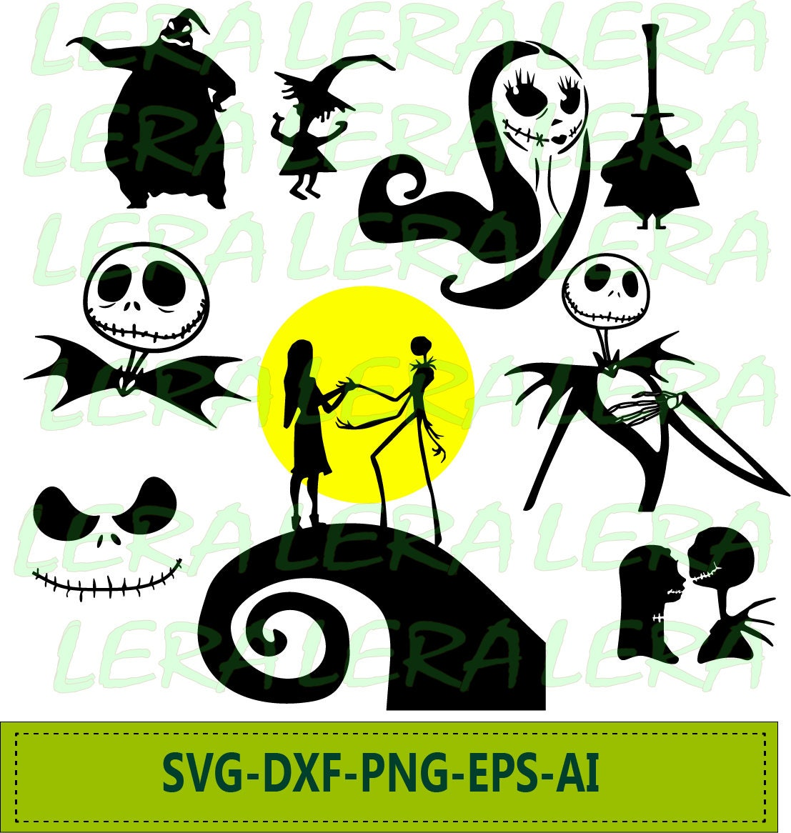 60 % OFF Nightmare Before Christmas SVG Jack Skellington | Etsy
