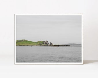 Landscape Art Nature Printable Island Print Ocean Printable Wall Art Downloadable Prints Ireland Photography Modern Minimalist Office Decor