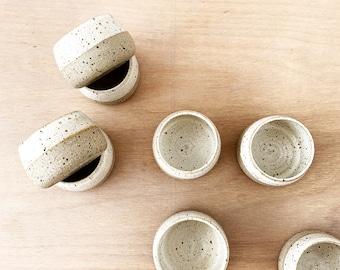 Hand Thrown Handmade Ceramic 3.5 oz Espresso Cup, Foodie Gift, Tumbler,