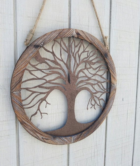 Tree of Life Wall Art Tree of Life Wall Decor Large Metal | Etsy