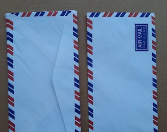 Airmail Envelopes Vintage Par Avion Kraft Envelopes