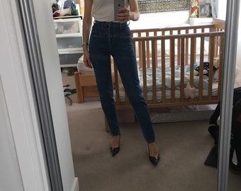 13642f18fb Girbaud rare vintage xs jeans junior size 1-2 long tapered today s size xxs  or xs mom moms mom s jeans 90s 80s