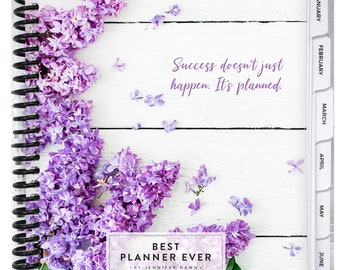 Best Planner Ever - 12 MONTH CALENDAR YEAR 2021 Daily Planner, One Page-Per-Day, Goal Setting, Mindset, Organizer- Multiple Covers Available