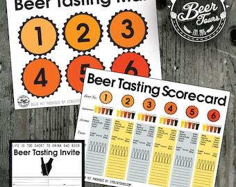 Beer Tasting Party - Printable Kit