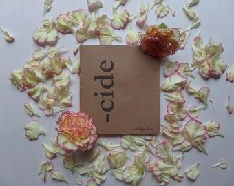 Booklet: -cide