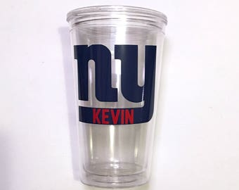 New York Giants Personalized Cup