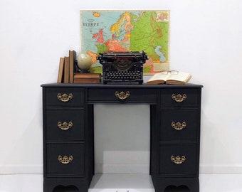 Antique Secretary Desk Etsy >> Vintage Desk Etsy