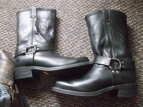 Men's Chippewa Harness Boots Engineer Boots Motorc