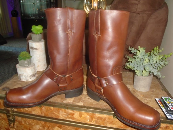Frye Harness Boots Frye 12r BELTED Harness Boots M
