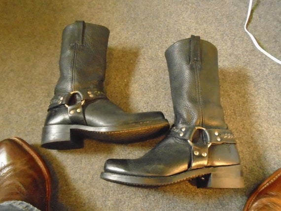 Men's FRYE CHAIN HARNESS Boots Motorcycle Boots gr