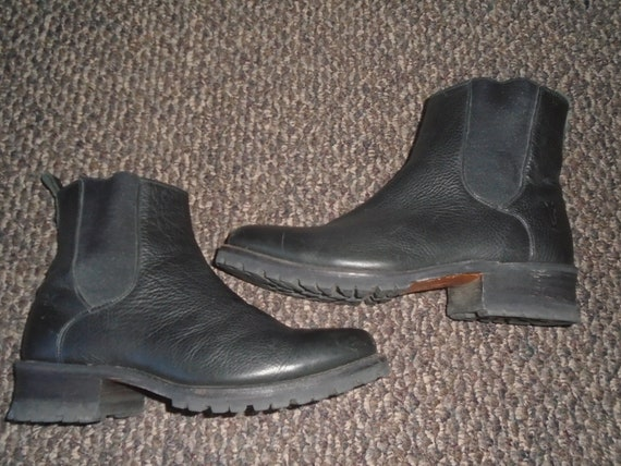 Frye Chelsea Boots Campus Boots Harness Motorcycle