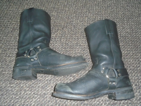 Men's FRYE Harness Boots Motorcycle Boots GRUNGE B