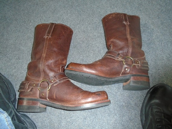 Men's Frye GAUCHO  Harness Boots Motorcycle Boots