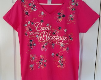 Unique Inspirational Hand Painted Shirts