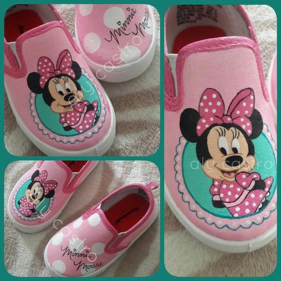 4062cd73c86c VANS Minnie mouse custom shoes