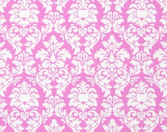 Candy Dandy Damask Pink Michael Miller Fabric