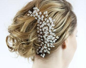 Bridal Hair Comb, Pearl Hair Comb, Wedding Hair Comb, wedding accessories, bridal hair pins, wedding hair accessories