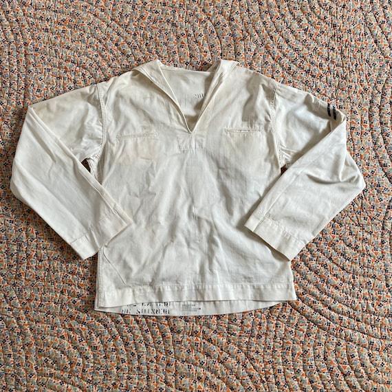 Vintage 70's 1971 USN Sailor Shirt