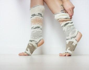 fb0102d14 Handknit leg warmers