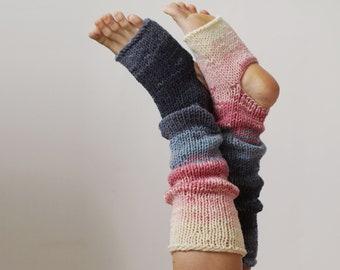 Knit Leg Warmers, Womens Clothing, Yoga Socks, Home Yoga Clothes, Knee High Socks, Athletic Toeless Sock, Leg Warmers, Stay Home Gift