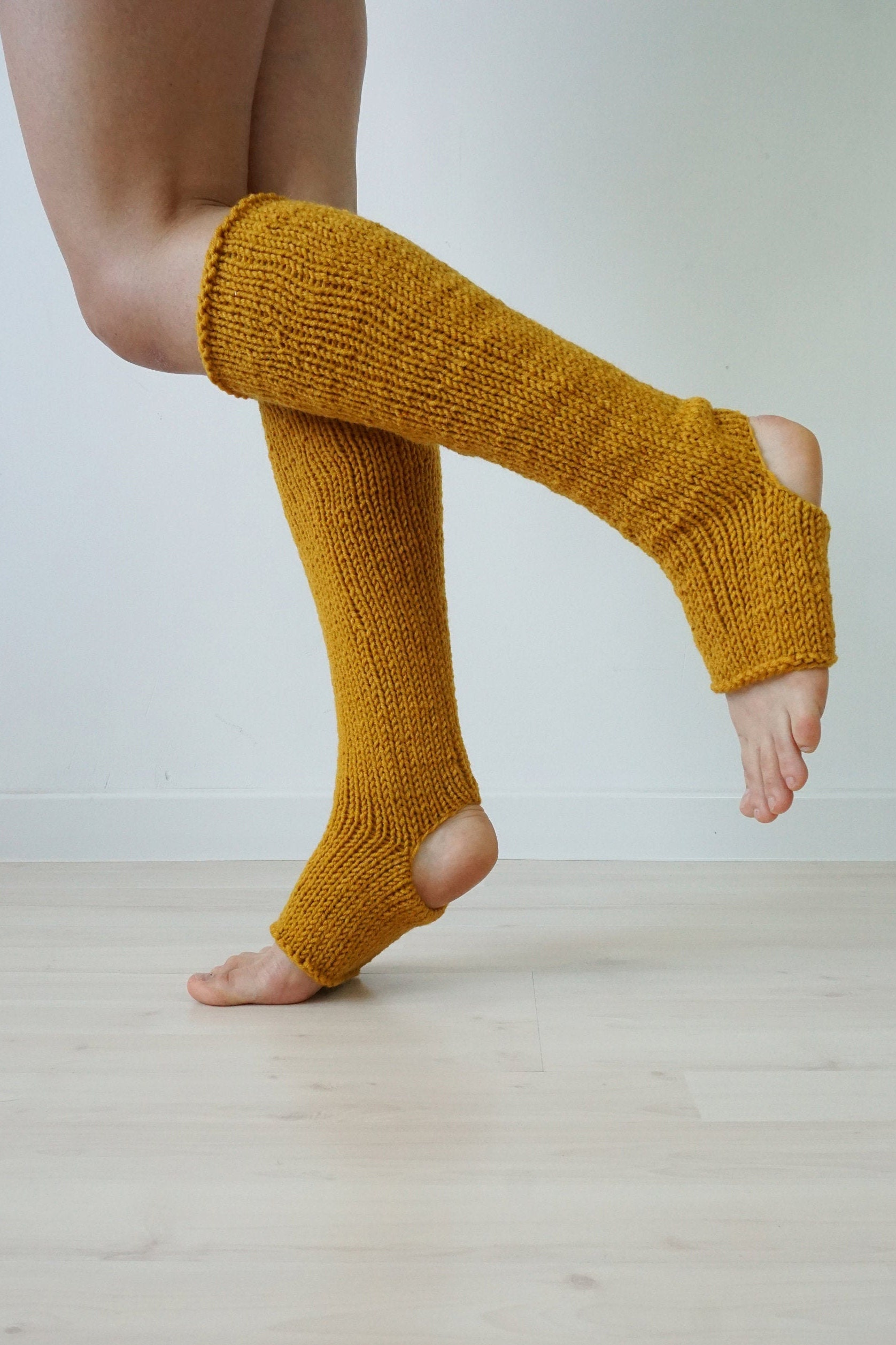 Spats, Gaiters, Puttees – Vintage Shoes Covers Yoga Socks, Mustard Leg Warmers, Home Accessories, Knee High, Gift, Spats, Knit Wear, Gift $46.64 AT vintagedancer.com