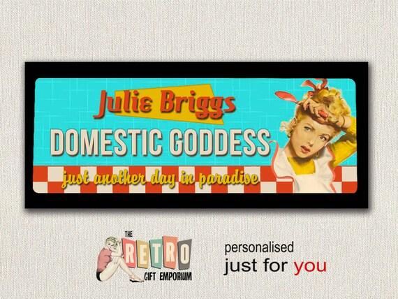 American Diner, personalisierte Küche Zeichen, 50er Jahre Diner, Metall  Wand-Plakette, Küche-Wand-Dekor, Mamas Küche, Mamas Küche, inländische  Göttin