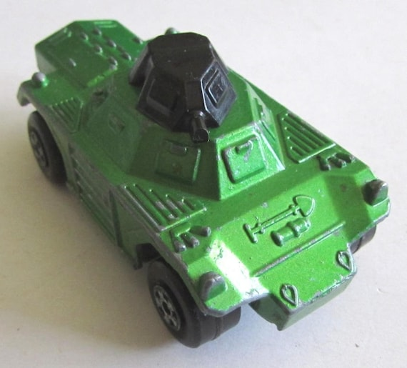Rare Vintage England Metal Military Toy Weasel Matchbox Etsy