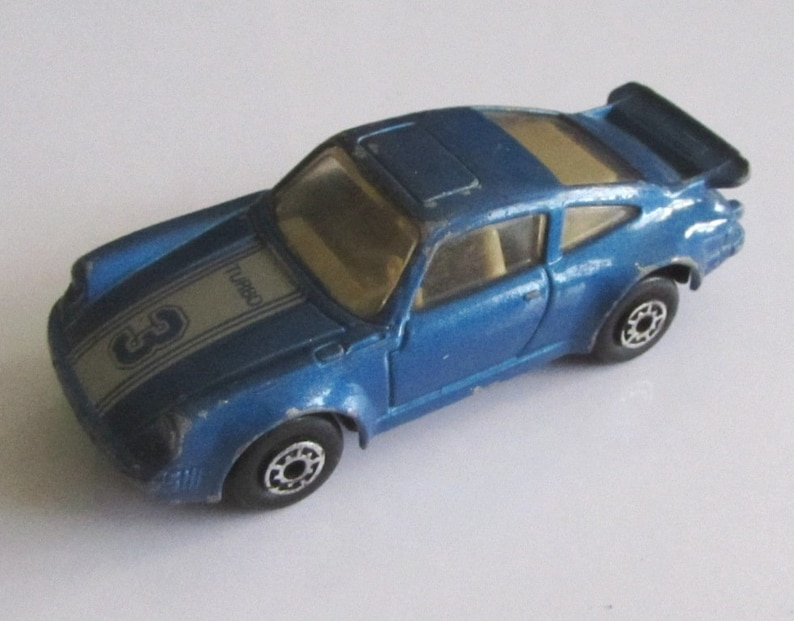Rare Vintage Macau Metal Toy Car Porsche 911 Turbo Matchbox Etsy