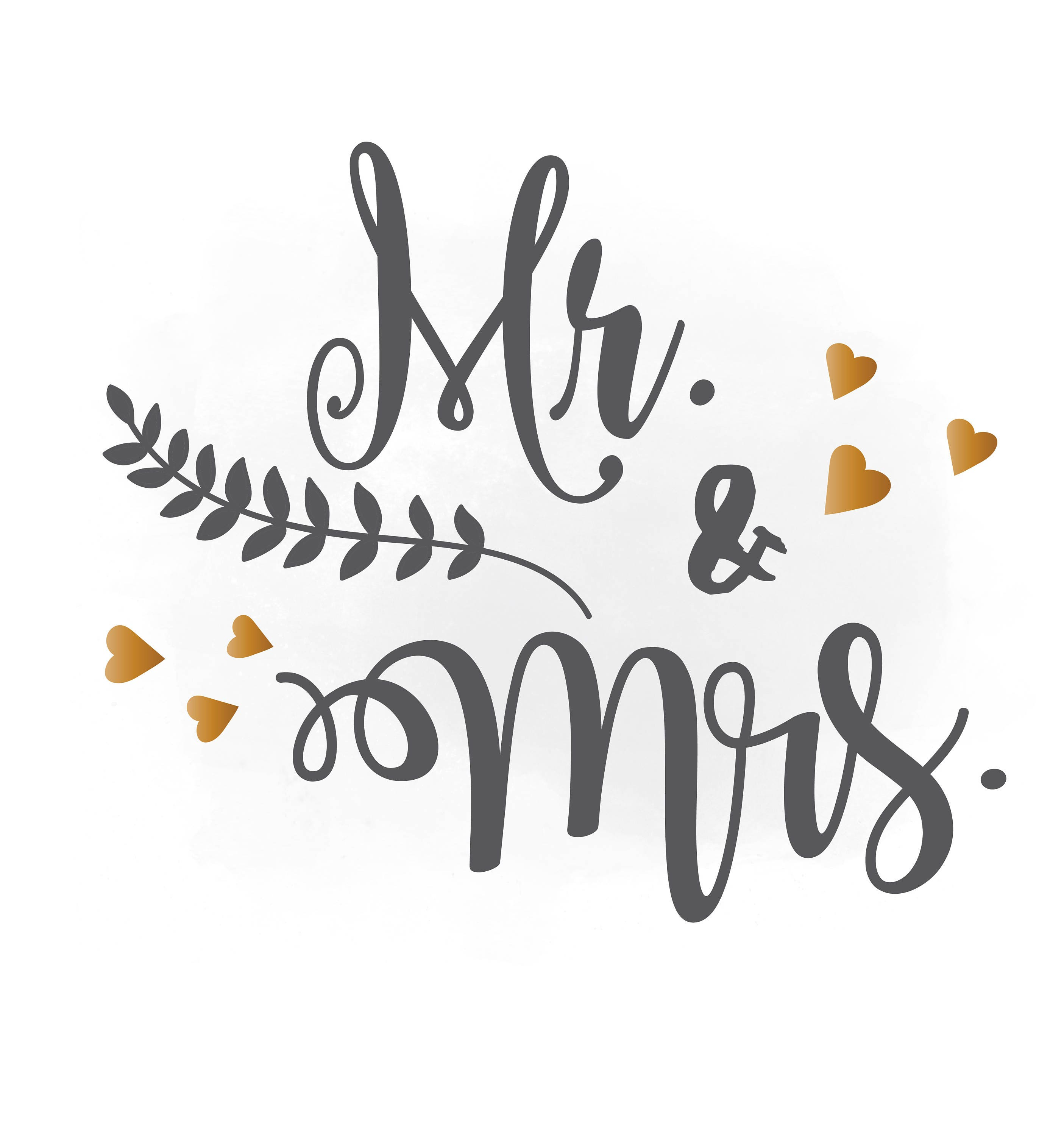 mr and mrs svg clipart wedding annuncment mr and mrs vector etsy
