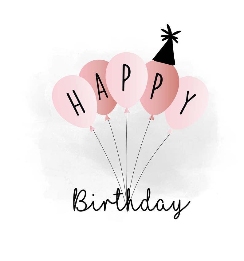 Gelukkige Verjaardag Svg Clipart Verjaardag Offerte Digitaal Etsy